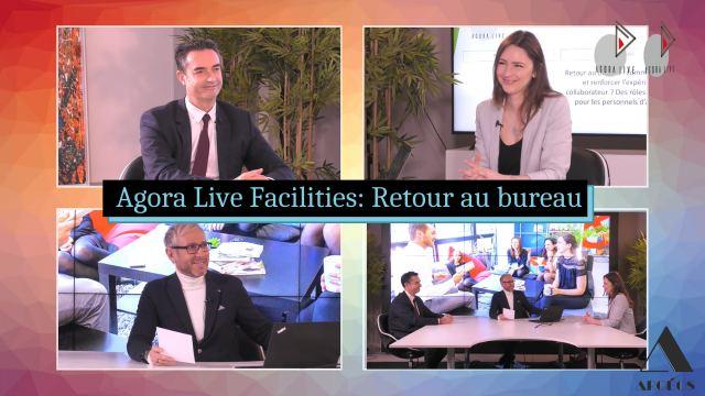 Agora Live Facilities : nouveaux rôles pour l'accueil